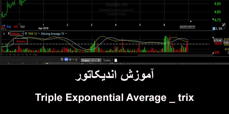 آموزش اندیکاتور Triple Exponential Average _ trix