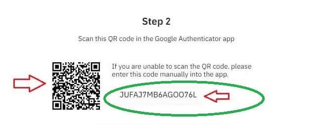 کد 16 رقمی گوگل اتنتیکیتور