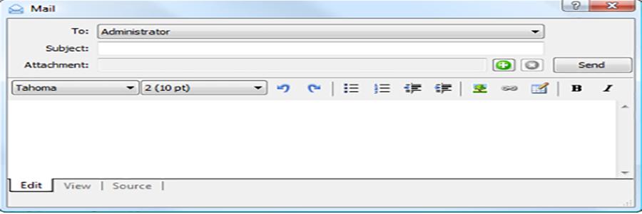 نحوه ارسال ایمیل در متاتریدر 5